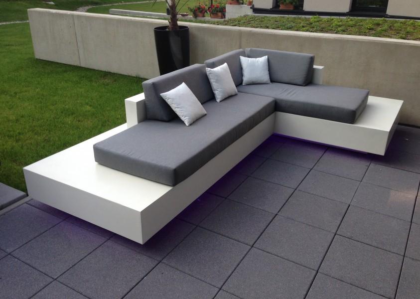 Kussens op maat voor je loungeset wonen zo for Steigerhout loungeset zelf maken