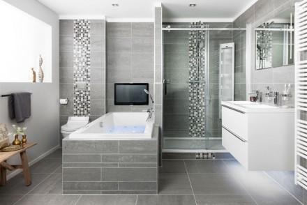 Een Gezellige Badkamer : Voorzie uw badkamer van glazen douchewanden wonen zo