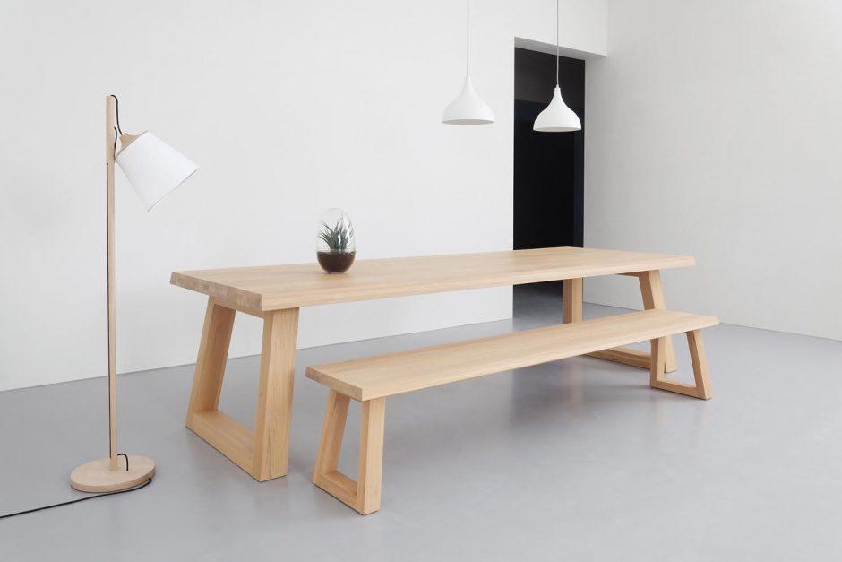 Tafel Remy Meijers : Eettafel van europees eikenhout kopen wonen & zo