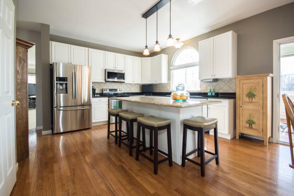 nieuwe keuken